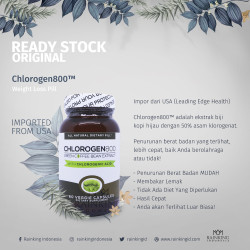 Chlorogen800™ Weight Loss Pill Pelangsing Slimming Alami Mudah ORI