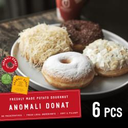 Paket Donat 6 Pcs ( Khusus Kurir Instant & Sameday )