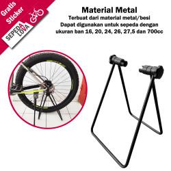 Standar Segitiga Sepeda Paddock Padox Bike Stand Lipat U Shape