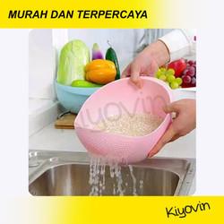 Wadah Cuci Beras & Sayur & Buah - Saringan Wadah Cuci Buah & Sayur