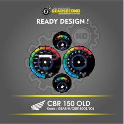 Ready Design Panel Speedometer Custom CBR 150 Old - Gearsecond