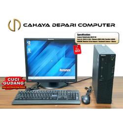 CUCI GUDANG PC KOMPLIT SIAP PAKAI CORE I5 - LCD 19 IN - KEY - MOS