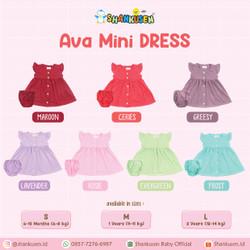 Shankusen Ava MIni Dress/ Shankusen Dress Bayi (1 pc)