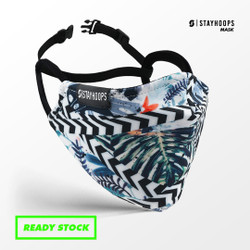 Stayhoops - Masker kain Fullprint - 2 Layer - Orchard