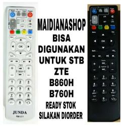Remote STB Indihome - ZTE - Remote DVB MNC Player Remote RM - 001 - Hitam