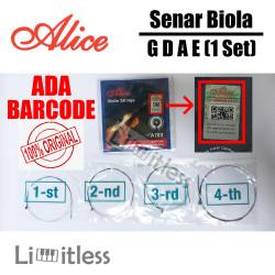 Senar Biola / Violin Strings 1/2 3/4 4/4 Alice A703 Original