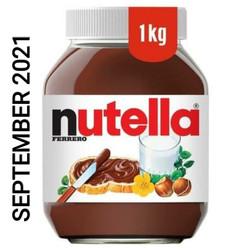 Nutella 1kg (1000 gr), expired panjang, ada logo BPOM MUI