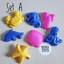 Mainan cetakan pasir kinetik fun doh - Tipe C