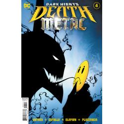 Dark Nights: Death Metal #4 (of 7) Foil Stamped 1st Print