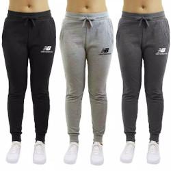 celana joger training sweatpnts wanita new balance - Hitam, M