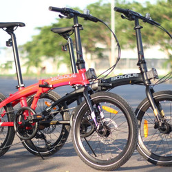 Sepeda Lipat 20 Inch Element Ecosmo 8 Edisi Bosque