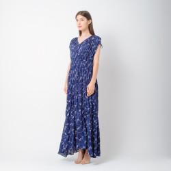 ATELIER MODE Loungewear Semi Loose Bliss Maxi Dress Wanita