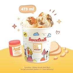 Roti Selai Biscoff Ice Cream (Pint Cup)