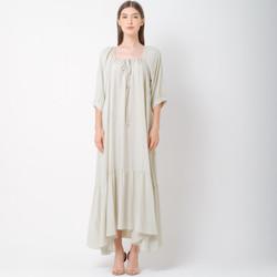 ATELIER MODE Loungewea Loose Flare Julie Dress wanita Maxi