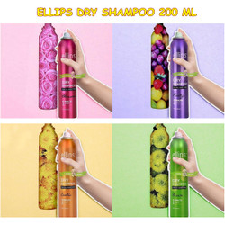 PERA378 PERAWATAN RAMBUT ELLIPS DRY SHAMPOO 200 ML FOR ALL HAIR TYPES