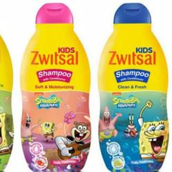shampo sampo anak biru pink sponge bob