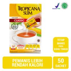 Tropicana Slim Sweetener Classic (50 Sachet)