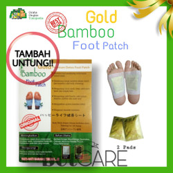 KOYO KAKI BAMBOO GOLD PEMBERSIH RACUN (1 pasang)