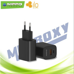 Adapter Charger Hippo Dynamic QC 3.0+PD 18W