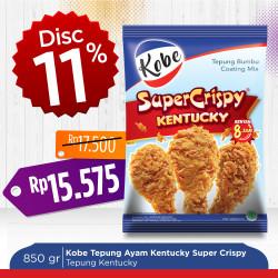 Kobe Tepung Ayam Kentucky Super Crispy 850g