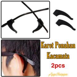 Karet Penahan Belakang Telinga Kacamata Silicon Sunglasses 2pcs