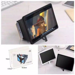 Lensa Pembesar Proyeksi Layar HP 3D Kaca Pembesar Layar Hp Streaming
