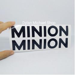 Cutting Sticker Frame Sepeda Minion Stiker