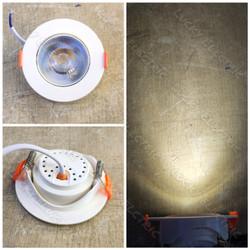 Lampu LED Downlight COB 5 Watt 220V / LED COB Ceiling Light 5w 5 w AC