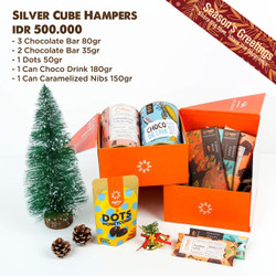 Silver Cube Hampers