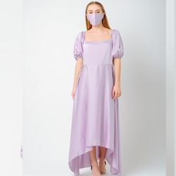 ATELIER MODE Loungewea Semi Loose Agnes Hilo Length Dress Wanita