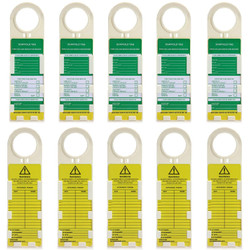 Scaffold Inspection Tags, Scaffold Tags, Scaffold Safety Tags