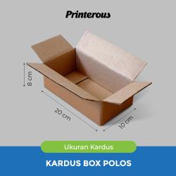 Corrugated Box - Kardus Box Polos 20x10x8 cm
