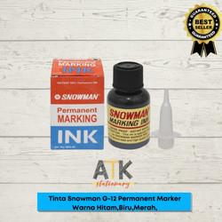Tinta refill Spidol Permanent marker Snowman G-12 atk