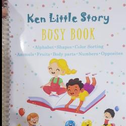Busy Book - Activity Book - Buku Edukasi Anak - Quiet Book Vol. 01