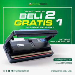 Vacuum Sealer DZ 280X Wirapax - PROMO BELI 2 GRATIS 1