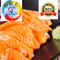 Salmon sashimi grade fresh trout norwegian portion 500 gr