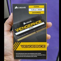 Memory Corsair Vengeance Sodimm DDR4 PC21300 2666Mhz 8GB Ram - Sodimm