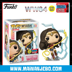 Funko Pop Wonder Woman 1984 - Wonder Woman with Lightning NYCC 2020
