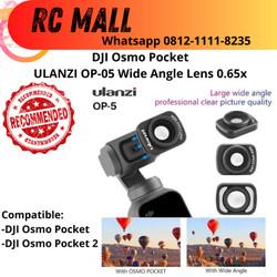 DJI Osmo Pocket Wide Lens Lensa Fish Eye Accessories Aksesoris DJI