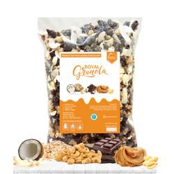 ROYAL Granola 1 KG PEANUT BUTTER & DARK CHOCOLATE