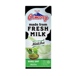 CIMORY UHT FRESH MILK MATCHA 250ml