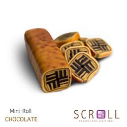 Kue Lapis legit Mini Roll CHOCOLATE