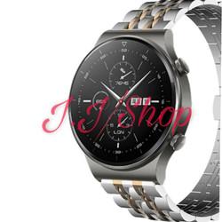 Strap Stainless Steel 7 Bead Beads Tali Jam Huawei Watch GT 2 GT2 Pro