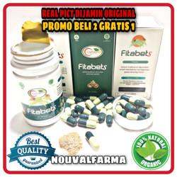 Fitabets Asli Herbal Original Obat Diabetes Gula Darah Resmi BPOM