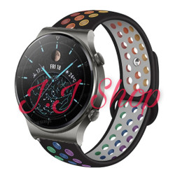 Strap Nike Rainbow Watch Band Huawei Watch GT 2 Pro GT2 Pro Tali Jam