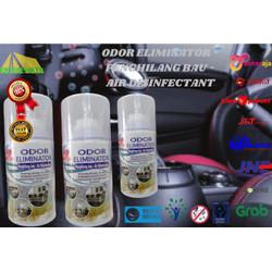 Eliminator ODOR ZONE 250ML Penghilang Bau Ruangan dan Kabin Mobil