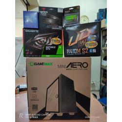 PC RAKITAN GAMING DESIGN INTEL i3 GEN 10 RAM 16GB GEFORCE GTX 1650 4GB