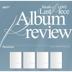 GOT7 - Breath of Love : Last Piece [ ORIGINAL KPOP ALBUM ]