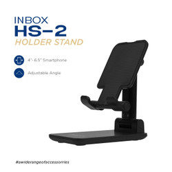 Inbox HS 2 Fully Foldable Lifable Universal Phone Holder - Dudukan HP