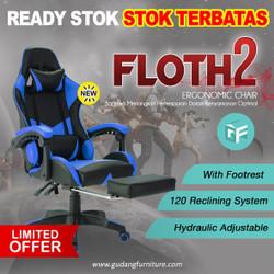Kursi Gaming / Bangku Gaming / Gaming Chair FLOTH2